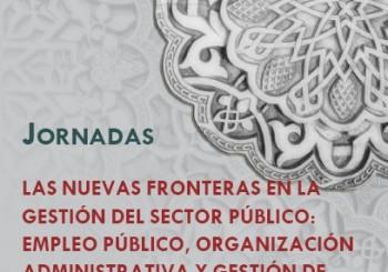 Jornadas: Nuevas Fronteras en la Gestión del Sector Público.