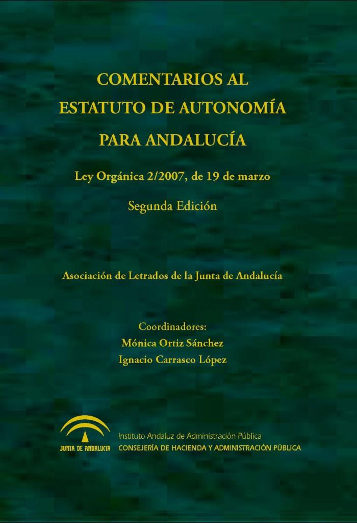Comentarios al estatuto de autonomía para Andalucía
